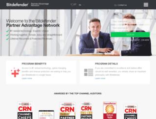 extranet.bitdefender.com screenshot