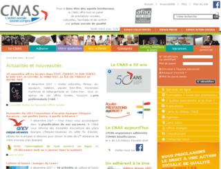 extranet.cnas.fr screenshot
