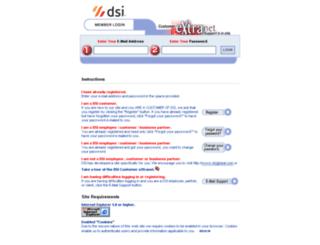 extranet.dsiglobal.com screenshot