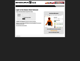 extranet.endura.co.uk screenshot