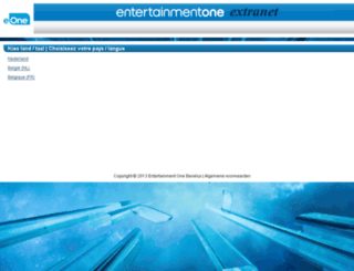 extranet.entertainmentone.nl screenshot
