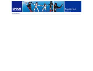 extranet.epson.com.ar screenshot