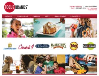 extranet.focusbrands.com screenshot