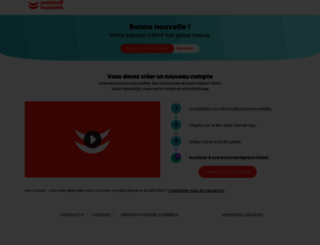 extranet.malakoffmederic.com screenshot