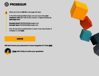 extranet.prosegur.com screenshot