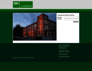 extranet.sdv.ag screenshot