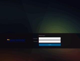 extranet.socomec.com screenshot