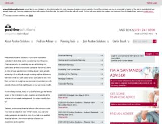 extranet.thinkpositive.com screenshot
