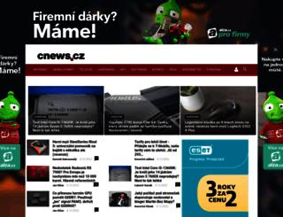 extranotebook.cnews.cz screenshot