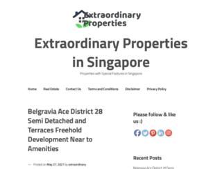 extraordinary.com.sg screenshot