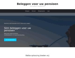 extrapensioen.be screenshot