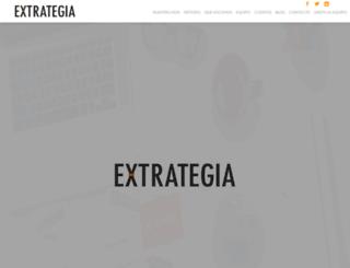 extrategia.com.mx screenshot