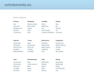 extratorrentz.eu screenshot