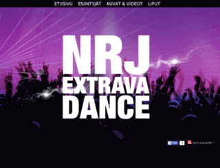 extravadance.nrj.fi screenshot