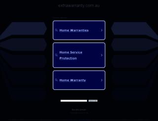 extrawarranty.com.au screenshot