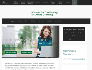 extraweb.algonquincollege.com screenshot