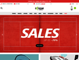 extreme-tennis.fr screenshot
