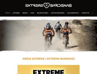 extremebardenas.com screenshot