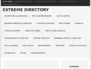 extremedirectory.org screenshot