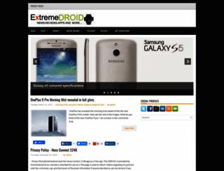 extremedroid.com screenshot