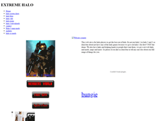 extremehalo9873.weebly.com screenshot