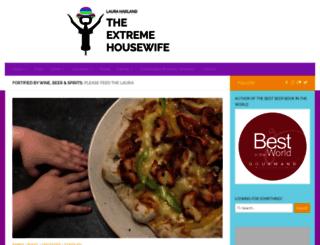 extremehousewife.blogspot.com screenshot