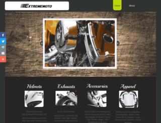extrememoto.com screenshot