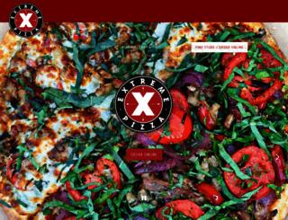 extremepizza.com screenshot