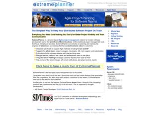 extremeplanner.com screenshot