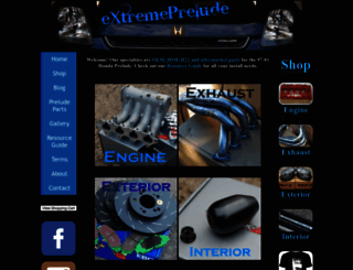 extremeprelude.com screenshot
