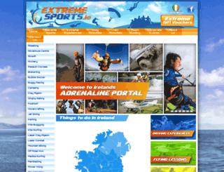 extremesports.ie screenshot
