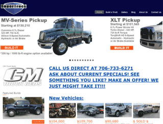 extremesupertruck.com screenshot