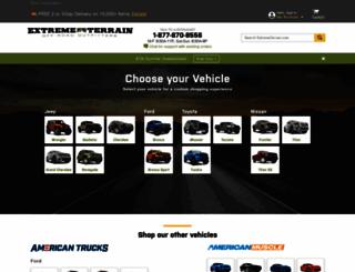 extremeterrain.com screenshot