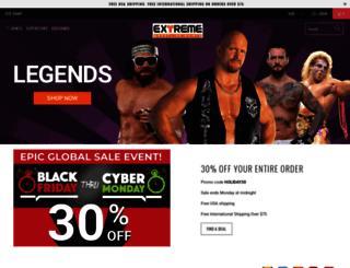 extremewrestlingshirts.com screenshot