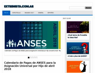 extremista.com.ar screenshot
