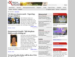 extremnews.de screenshot