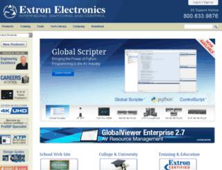 extron.ru screenshot