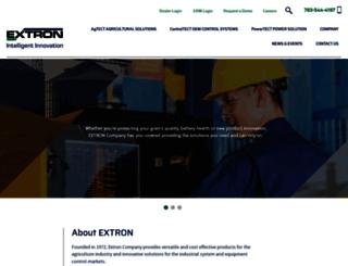 extroncompany.com screenshot