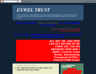 exweltrust.blogspot.in screenshot