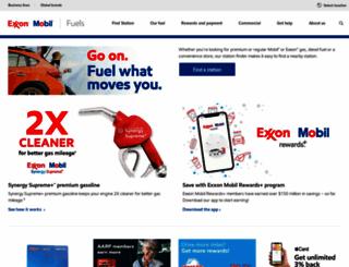 exxon.com screenshot