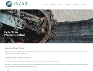 exzargroup.co.za screenshot