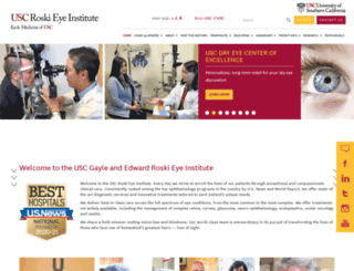 eye.keckmedicine.org screenshot