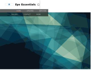 eyeessentials.nowfloats.com screenshot