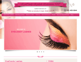 eyelashextensionsdc.net screenshot