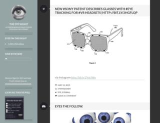 eyemakeart.wordpress.com screenshot