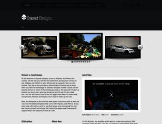 eyenetdesigns.com screenshot