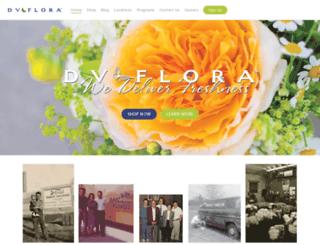 eyeon.dvflora.com screenshot