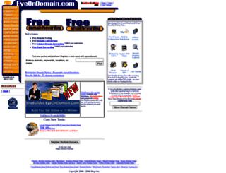 eyeondomain.com screenshot