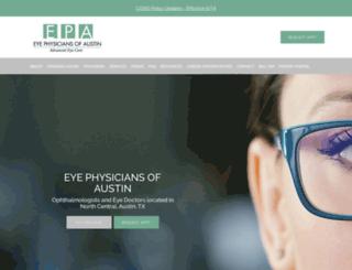 eyephysiciansofaustin.com screenshot
