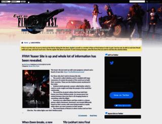 eyesonff.com screenshot